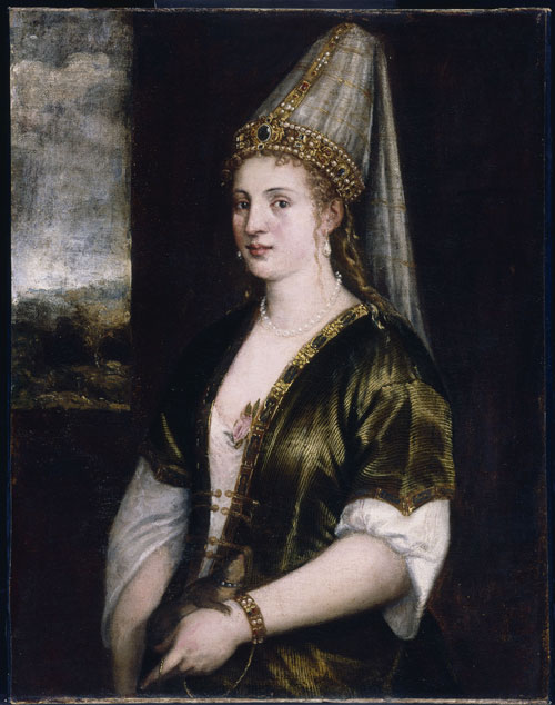 Titian (Studio), La Sultana Rossa. The John and Mable Ringling Museum of Art, the State Arte Museum of Florida, Florida State University, Sarasota, Florida.