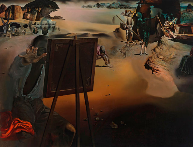 Salvador Dalí. Impressions d'Afrique (Impressions of Africa), 1938. Oil on canvas, 91.5 x 117.5cm. Collection: Museum Boijmans Van Beuningen. © Salvador Dali, Fundació Gala-Salvador Dalí, DACS, 2015.