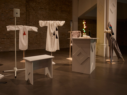 Corin Sworn. Max Mara Art Prize for Women. Installation view (2) at Whitechapel Gallery, London, May 2015. Photograph: Stephen White. Courtesy Whitechapel Gallery