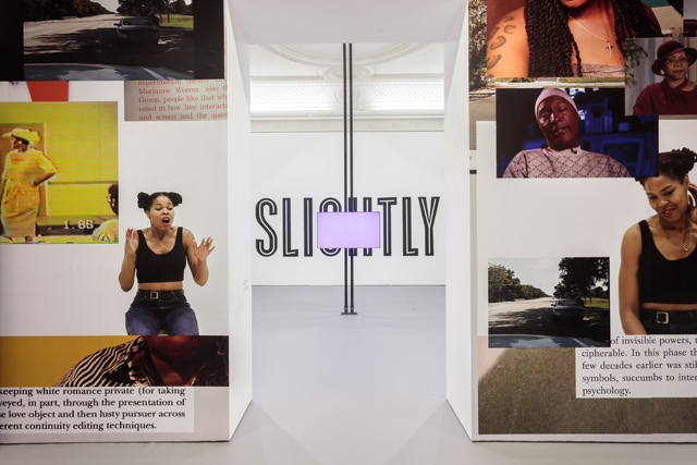 Martine Syms: Fact & Trouble. Installation view (2), Institute of Contemporary Arts London (ICA). Photograph: Mark Blower.