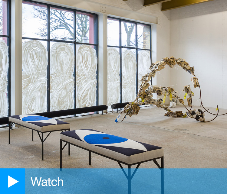 Video walkthrough of this group exhibition at Goldsmiths Centre for Contemporary Art narrated by curator Natasha Hoare.