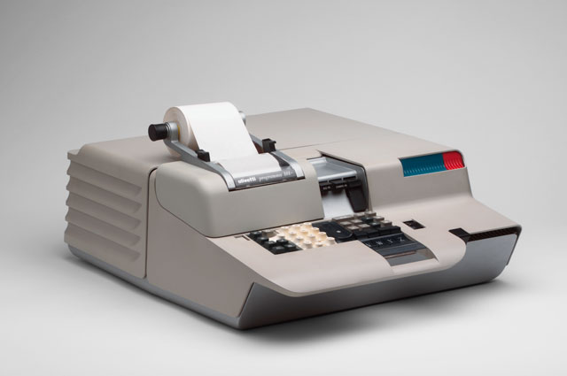 Mario Bellini. Programma 101 Electronic Desktop Computer. 1965. Die-cast aluminum casing. Manufactured by Ing. C. Olivetti & C. S.p.A., Ivrea, Italy. The Museum of Modern Art, New York. Gift of the manufacturer. © 2017 Mario Bellini.