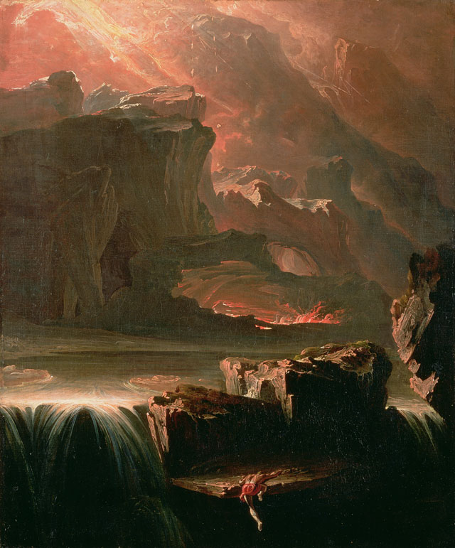 John Martin. Sadak in Search of the Waters of Oblivion, 1812. Oil on canvas. Courtesy of Southampton City Art Gallery, Hampshire, UK / Bridgeman Images.