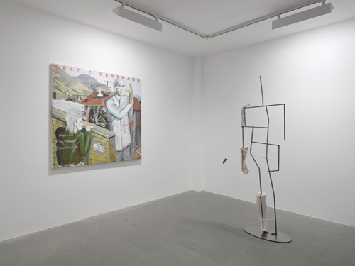 The boys the girls the political, Installation view (2), Lisson Gallery, London. Courtesy Lisson Gallery. Photograph: Jack Hems.