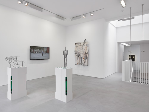 The boys the girls the political, Installation view (5), Lisson Gallery, London. Courtesy Lisson Gallery. Photograph: Jack Hems.