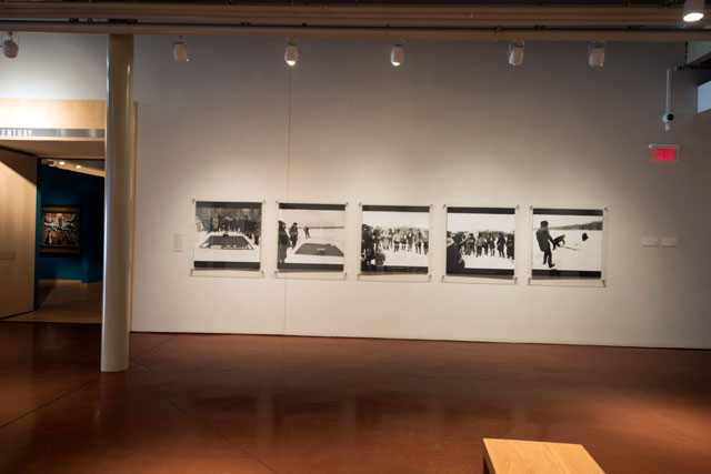 Collective Actions Group. Action 33: Russian World, March 15, 1985, 1985. Photographs documenting a performance. Norton and Nancy Dodge Collection of Nonconformist Art from the Soviet Union at the Zimmerli Art Museum at Rutgers. Photograph: Peter Jacobs.