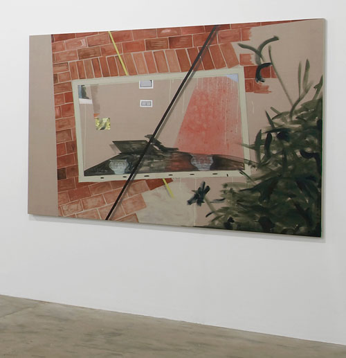 Caragh Thuring, exhibition view (4), Chisenhale Gallery, 2014. All works 2014. Commissioned by Chisenhale Gallery. Courtesy the artist and Thomas Dane Gallery. Photograph: Andy Keate.