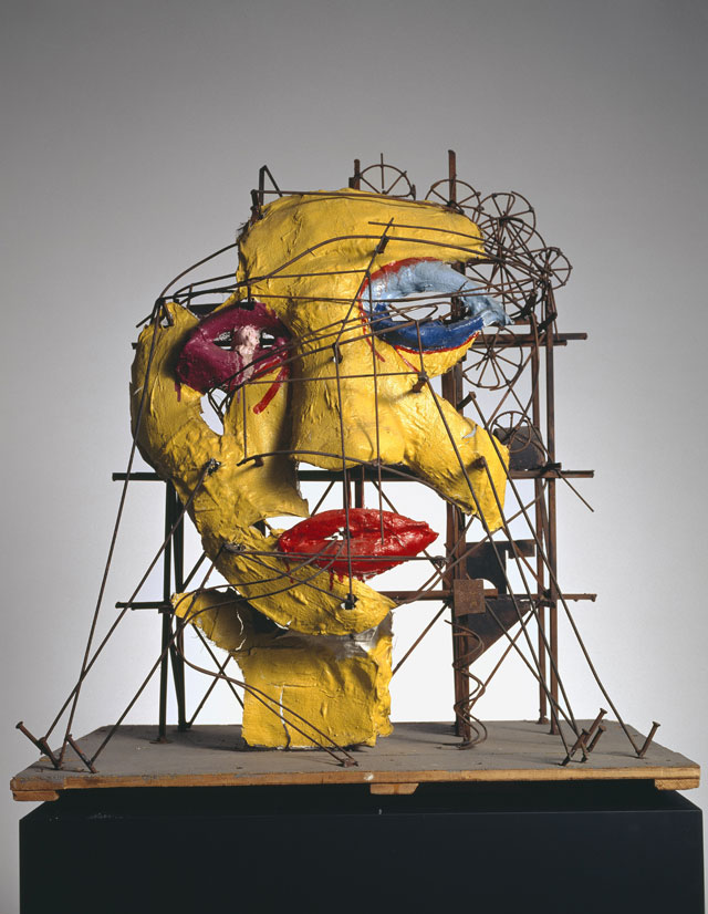 Jean Tinguely and Niki de Saint Phalle. Le Cyclop - La Tête, 1970. Collection Museum Tinguely Basel - a cultural commitment of Roche, donation Niki de Saint Phalle. Photograph: Christian Baur, c/o Pictoright Amsterdam, 2016.