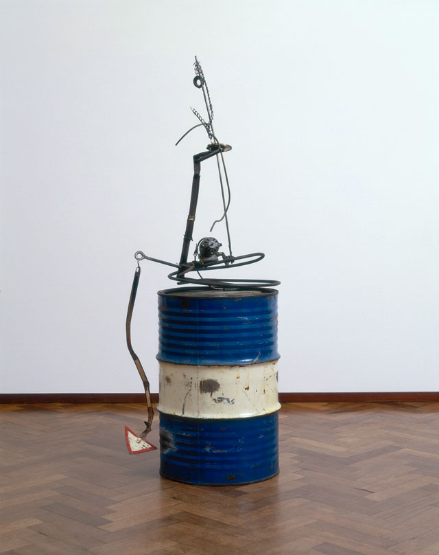 Jean Tinguely. Baluba bleu, 1962. Collection Stedelijk Museum Amsterdam, c/o Pictoright Amsterdam, 2016.