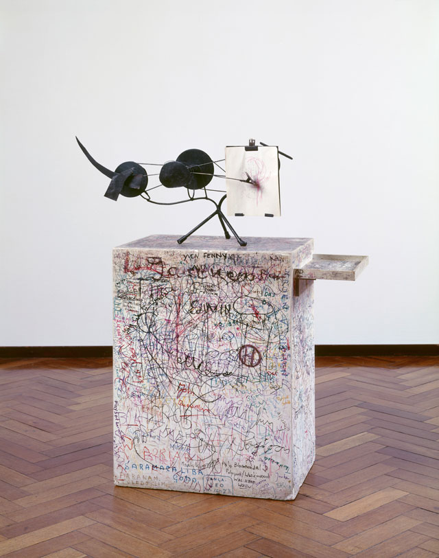 Jean Tinguely. Méta-Matic No. 10, 1959. Collection Stedelijk Museum Amsterdam, c/o Pictoright Amsterdam, 2016.
