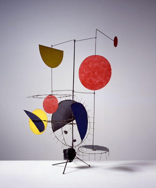 Jean Tinguely. Meta-mechanical sculpture untitled, 1954. Private Collection Potsdam. Photograph: Christian Baur, c/o Pictoright Amsterdam, 2016.