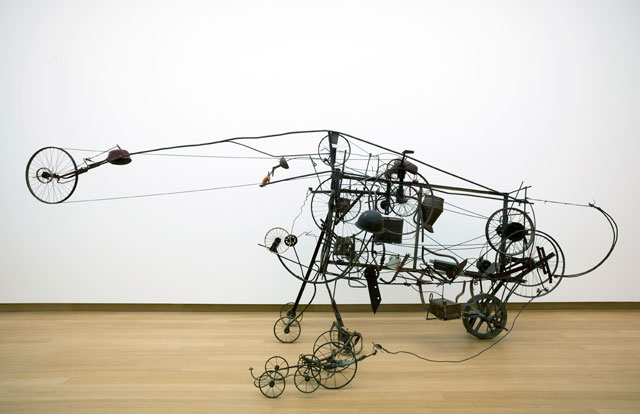 Jean Tinguely, Gismo. 1960. Photograph: Gert Jan van Rooij. Collection Stedelijk Museum Amsterdam, c/o Pictoright Amsterdam, 2016.