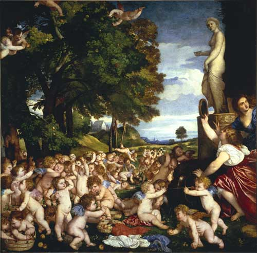 <i>The Worship of Venus</i>, 1516. Oil on canvas, 172 x 175 cm © 