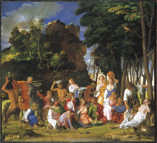 Giovanni Bellini (about 1430-1516), with additions by Titian, <i>The 