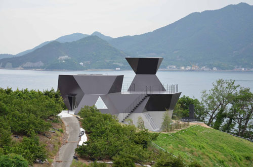 Museum of Architecture, Imabari City Japan. Architect: Toyo Ito.