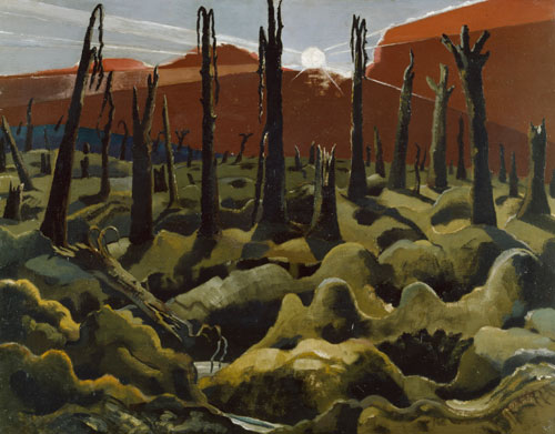 Paul Nash. We Are Making a New World, 1918. Oil on canvas. © IWM.