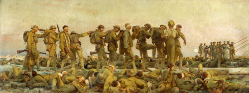 John Singer Sargent. Gassed, 1919. Oil on canvas. © IWM.