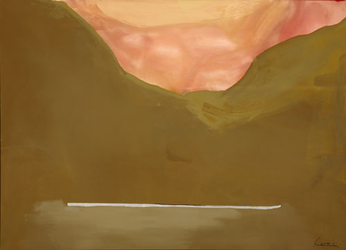 Helen Frankenthaler. Burnt Norton. The Helen Frankenthaler Foundation, Inc./Artists Rights Society (ARS), New York.