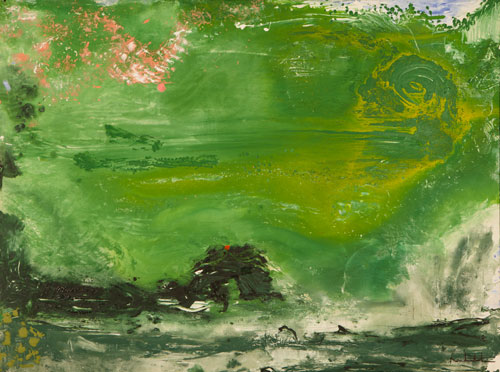 Helen Frankenthaler. Overture, The Helen Frankenthaler Foundation, Inc./Artists Rights Society (ARS), New York.