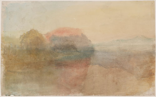 JMW Turner. Trematon Castle, Cornwall, c.1828. © Tate, London 2013.