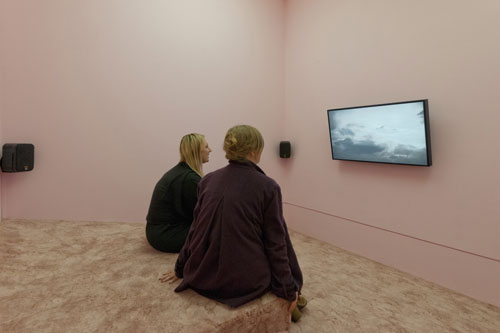 Grandma's Dream, part of 2013 Turner Prize winner Laure Prouvost's installation.