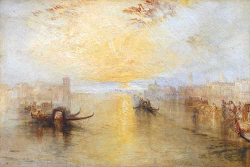 Joseph Mallord William Turner, <i>San Benedetto looking toward Fusina</i>, 