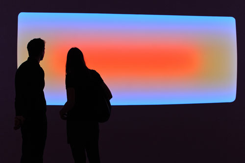 James Turrell: Recent Works. Installation view, courtesy Pace London. © James Turrell, Florian Holzherr.