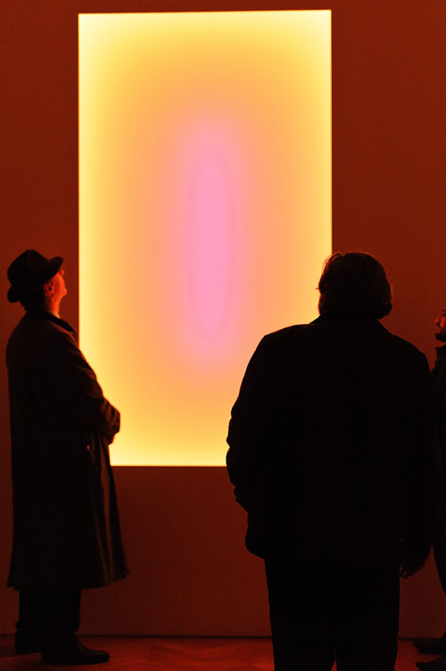 James Turrell. Sojourn, 2006. From the Tall Glass series. Installation view, courtesy Pace London. © James Turrell, Florian Holzherr.