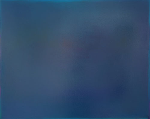 Boo Saville. Untitled (Blue), 2014. Oil on canvas, 123 x 155 cm.