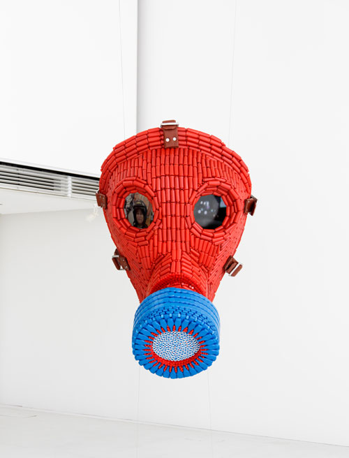 Snehasish Maity. Mask, 2012. © Louis Vuitton/Jérémie Souteyrat