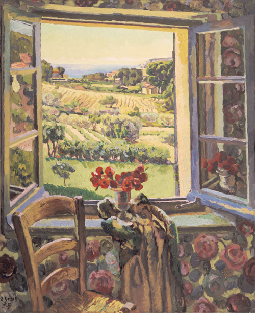 Duncan Grant. Window, South of France, 1928. Copyright the estate of Duncan Grant. All rights reserved DACS 2013.