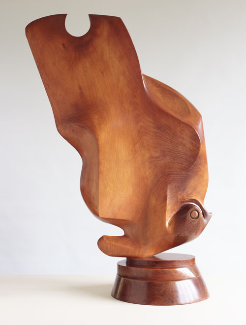 Gertrude Hermes. Butterfly, 1937. Walnut. Private collection.