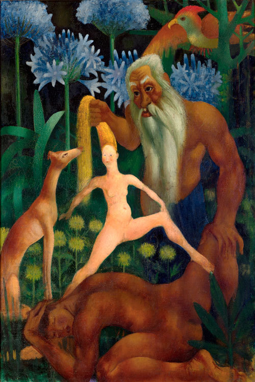 Mark Gertler. The Creation of Eve, 1914. Private Collection.