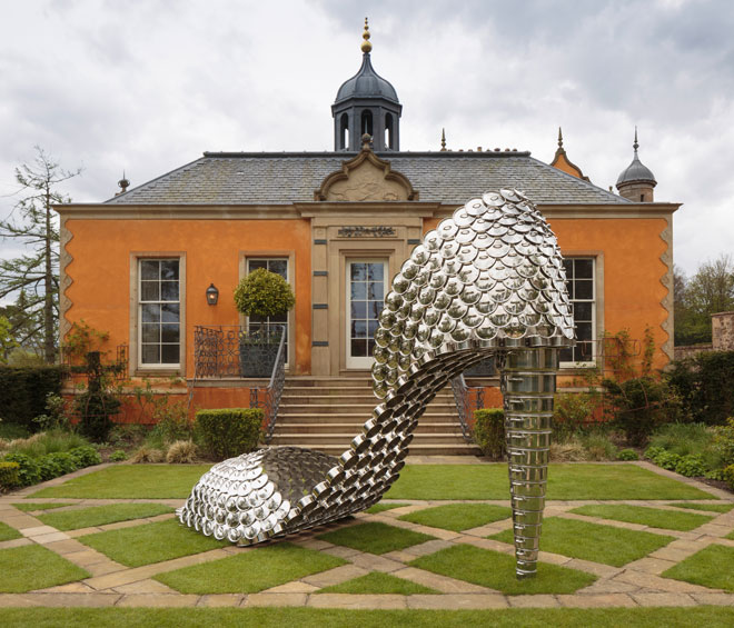 Vasconcelos's solo show offers a riot of colour and texture in this highly personal, curated sculpture park, celebrating the duality – the glamour and the grind, the dreams and the heartbreak – that typifies women's lives, on a monumental scale