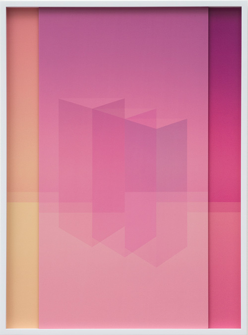 Sara VanDerBeek. Electric Prisms IV, 2015. Digital C-print, 50.8 x 38.7 cm (20 x 15 1/4 in). Edition 1 of 3 + 2 AP.
