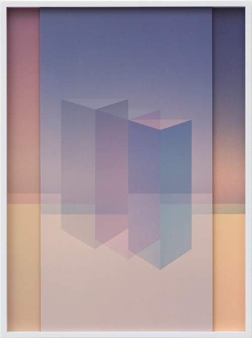 Sara VanDerBeek. Electric Prisms VIII, 2015. Digital C-print, 50.8 x 38.7 cm (20 x 15 1/4 in). Edition 1 of 3 + 2 AP.