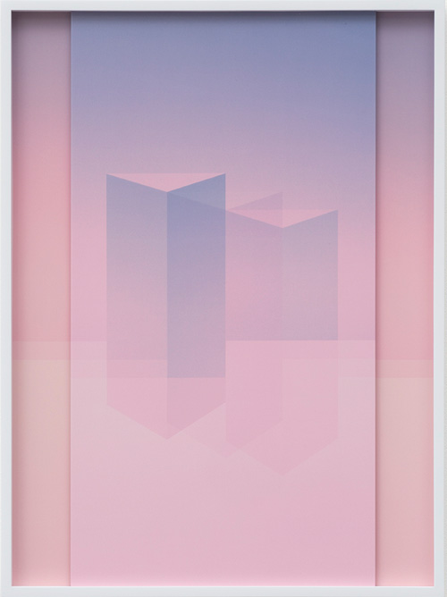 Sara VanDerBeek. Electric Prisms XII, 2015. Digital C-print, 50.8 x 38.7 cm (20 x 15 1/4 in). Edition 1 of 3 + 2 AP.