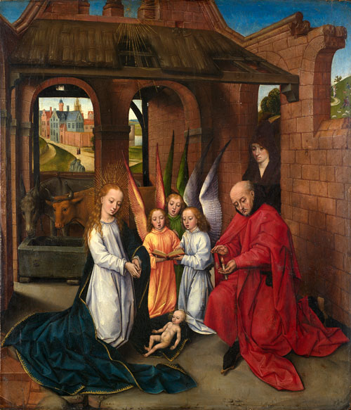 Master of the Prado Adoration. Nativity, c 1475-1500. © Birmingham Museums Trust.