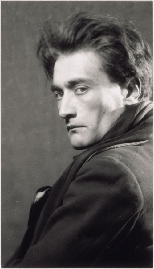 Man Ray. Antonin Artaud, 1926. 13.1 x 7.5 cm. Paris, Centre Pompidou, Musée national d'Art Moderne / Centre de création industrielle. © Centre Pompidou, MNAM-CCI, Dist. RMN-Grand Palais / Jacques Faujour © Man Ray Trust / ADAGP, Paris 2014