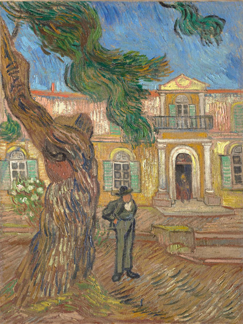 Vincent Van Gogh. Saint-Paul Asylum, Saint-Rémy, October 1889. Oil on canvas, 63.4 x 49 cm. Paris, musée d'Orsay, donation of Max and Rosy Kaganovitch.