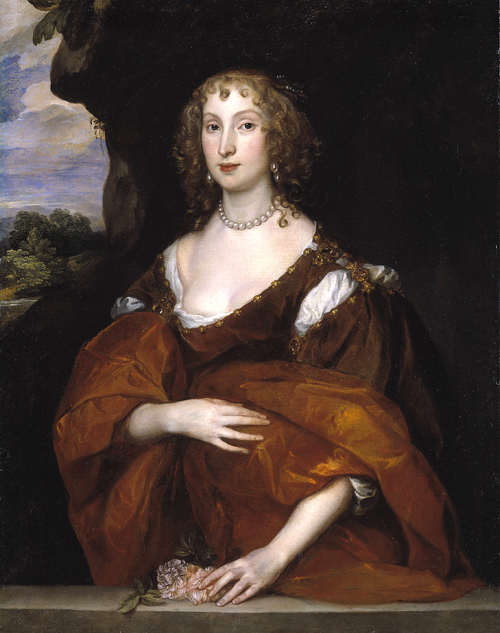 Anthony Van Dyck. <em>Portrait of Mary Hill, Lady Killigrew</em>,  1638.