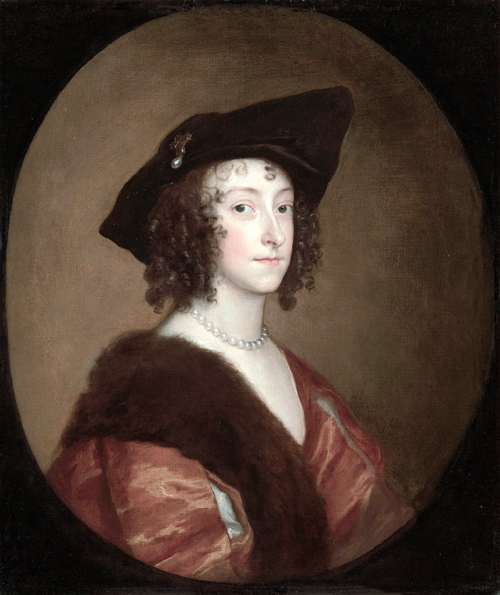 Anthony Van Dyck. <em>Portrait of Katherine, Lady Stanhope, later Countess of Chesterfield,</em> c.1635–6. Private Collection