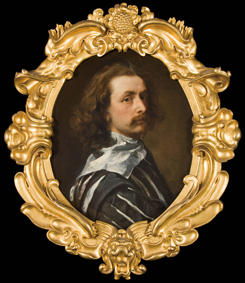 Anthony Van Dyck. <em>Self-portrait</em>, 1640<em>.</em> Private Collection