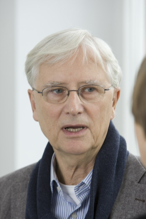 Nico van der Endt at the 2009 Forum for Outsider Art, Kunsthaus Kannen, Münster. Courtesy Kunsthaus Kannen.