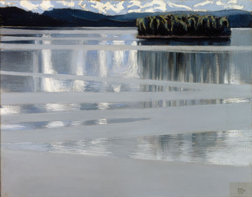 Akseli Gallen-Kallela. Lake Keitele, 1905. Oil on canvas, 53 x 67 cm. Lahti Art Museum, Finland. Photography: Finnish National Gallery/Central Art Archives/Hannu Aaltonen.