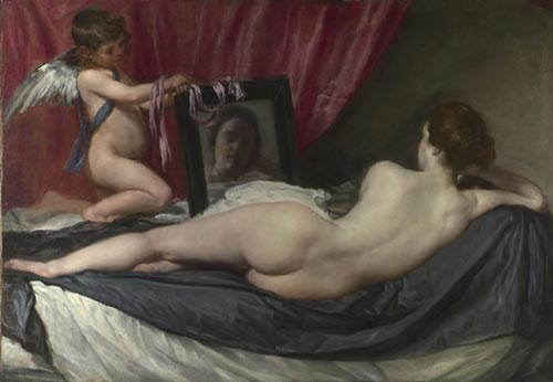 Diego Velazquez. <em>The Toilet of Venus</em> ('<em>The Rokeby Venus</em>'), 1647-51. © The National Gallery, London.