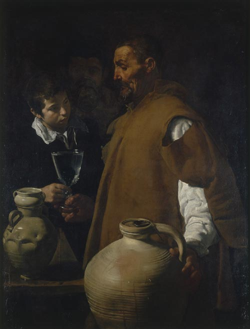 Diego Velázquez. <em>The Waterseller of Seville</em>, about 1617-23. The Wellington Collection, Apsley House London inv. WM1600-1948 © English Heritage Photo Jonathan Bailey.