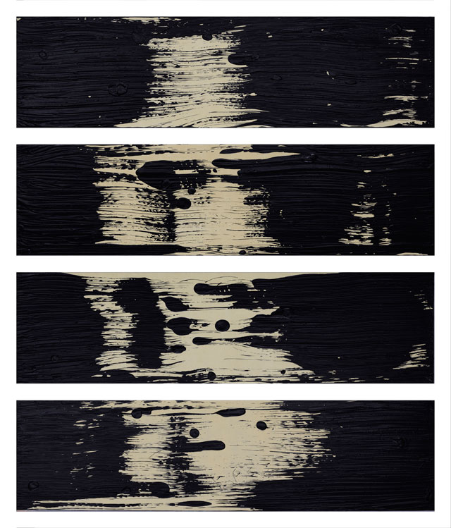 Fabienne Verdier. Fractale-scapes II, 2016. Acrylic and mixed media on canvas, 135 x 113 cm. Courtesy Waddington Custot.