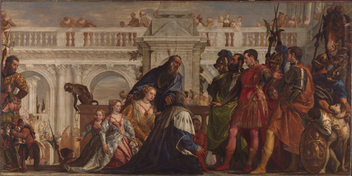 Paolo Veronese (1528-1588). The Family of Darius before Alexander, 1565-67. Oil on canvas, 236.2 x 474.9 cm. © The National Gallery, London.