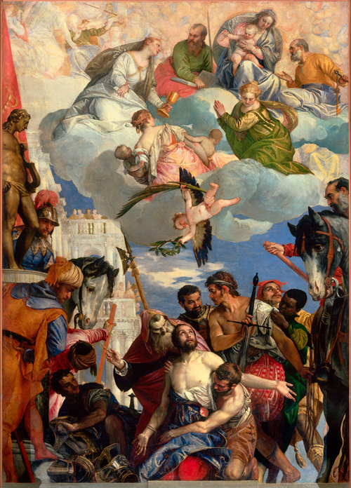Paolo Veronese (1528-1588). Martyrdom of Saint George, c1565. Chiesa di San Giorgio in Braida, Verona. © Photo Scala, Florence.